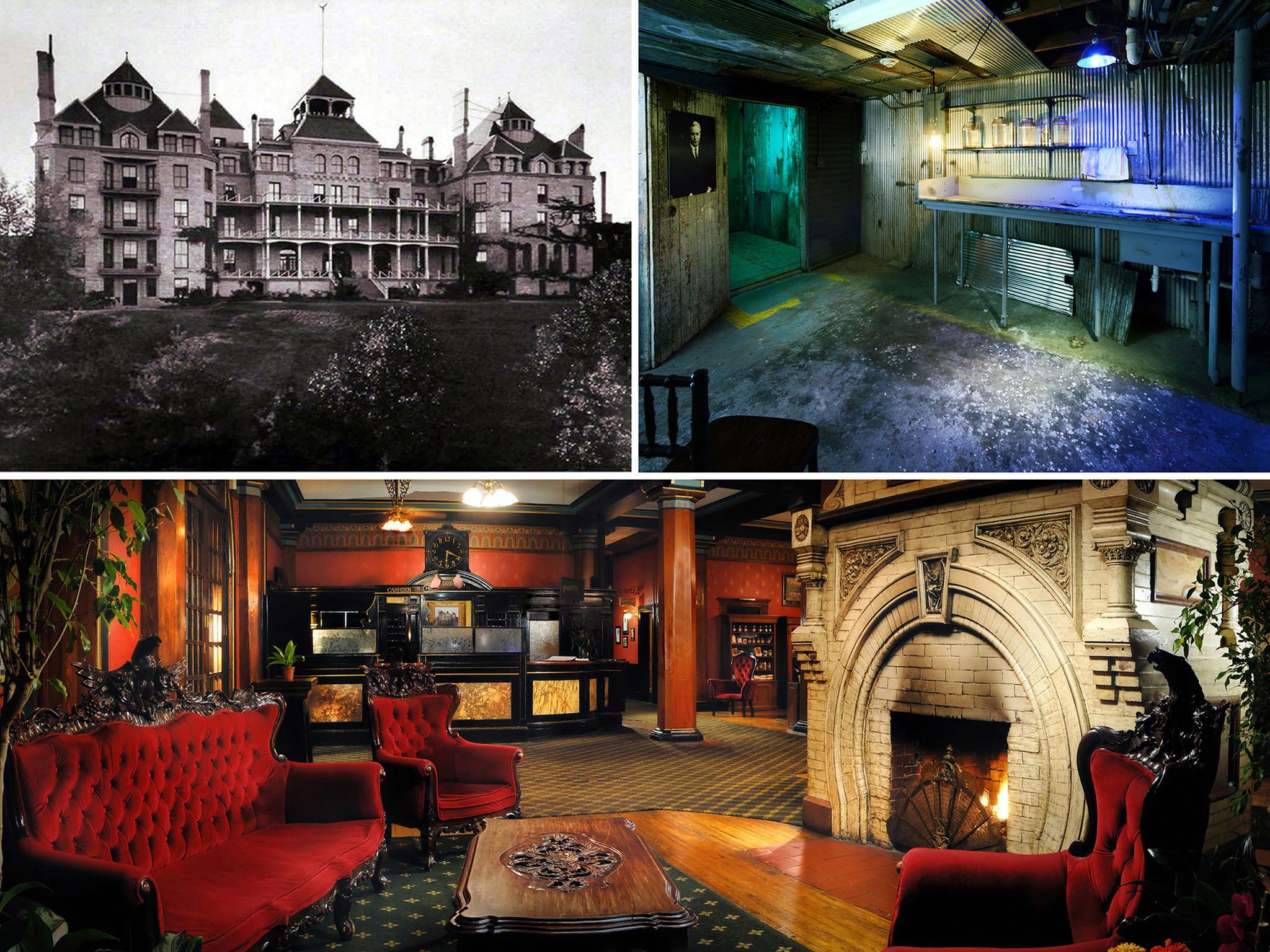 Haunted Hotels Turn Horror Into Hard Cash Chicago Tribune