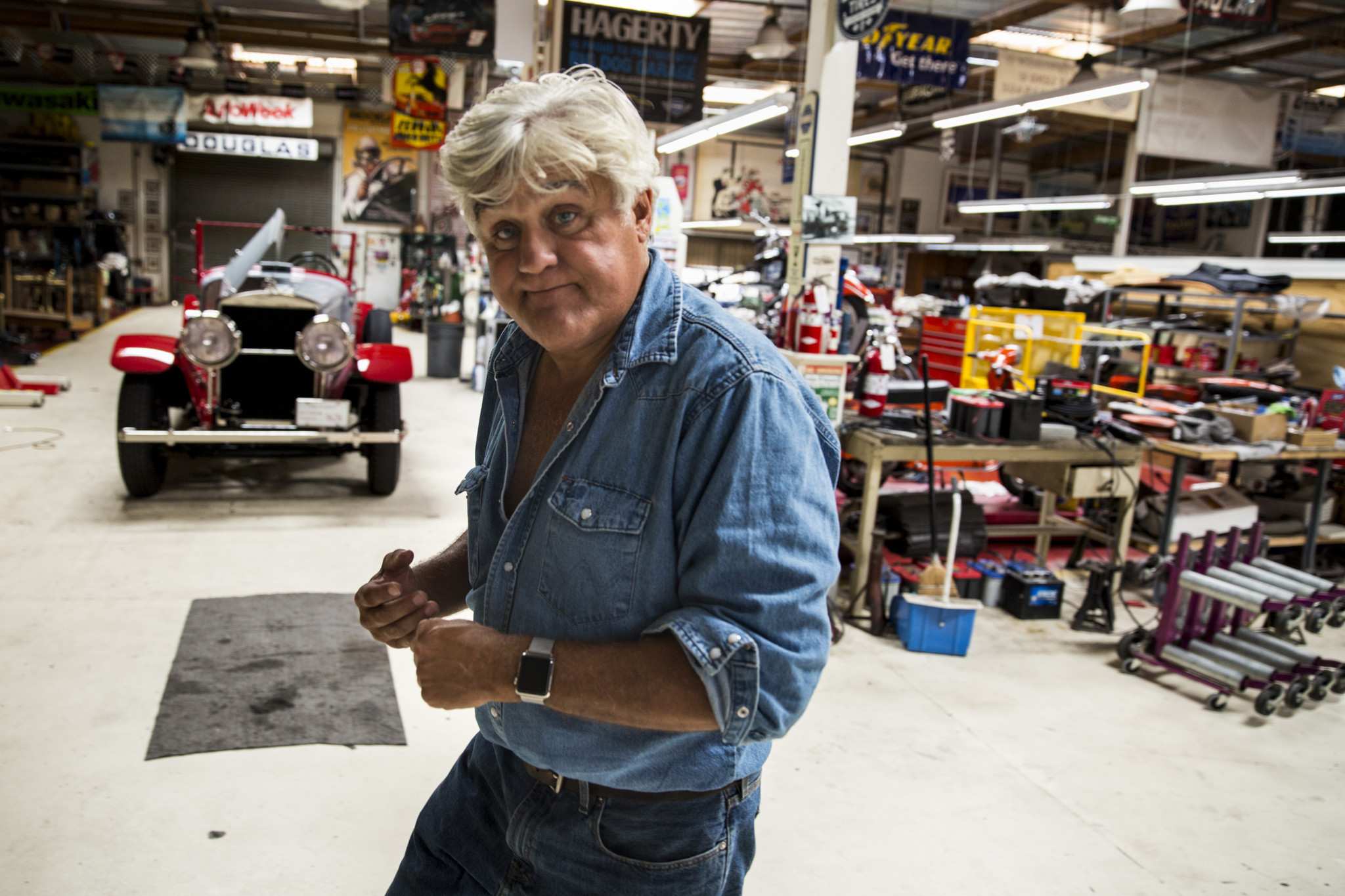 Jay Leno S Back In The Driver S Seat In Cnbc S New Jay