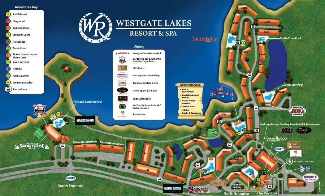 Westgate Vacation Villas Directions