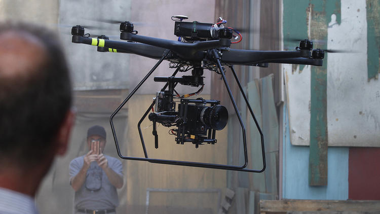 Drones in Hollywood