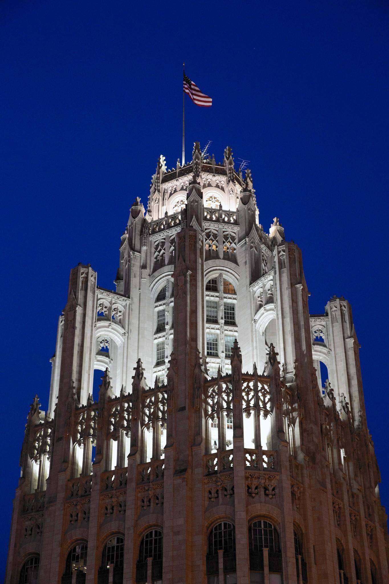 tribune media to sell iconic tribune tower