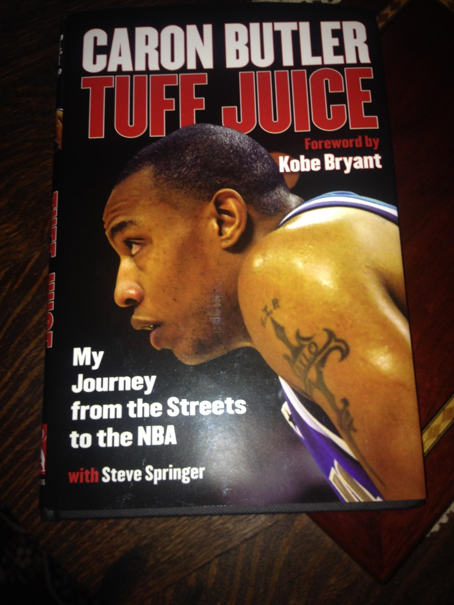 UConn Men s Basketball Insider Caron Butler s Book Takes Reader