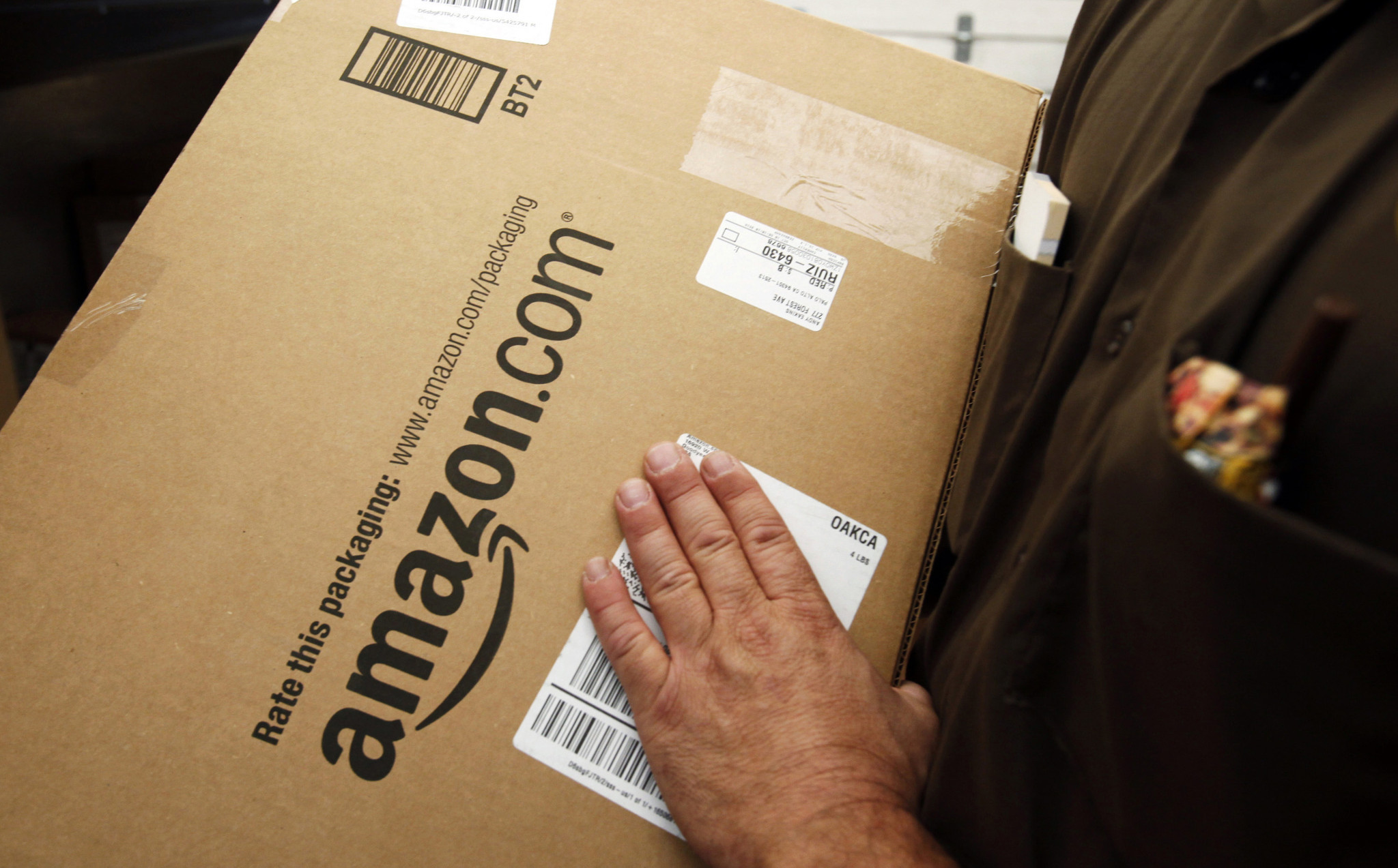 uber for packages amazon looking for drivers to deliver goods chicago tribune. Black Bedroom Furniture Sets. Home Design Ideas
