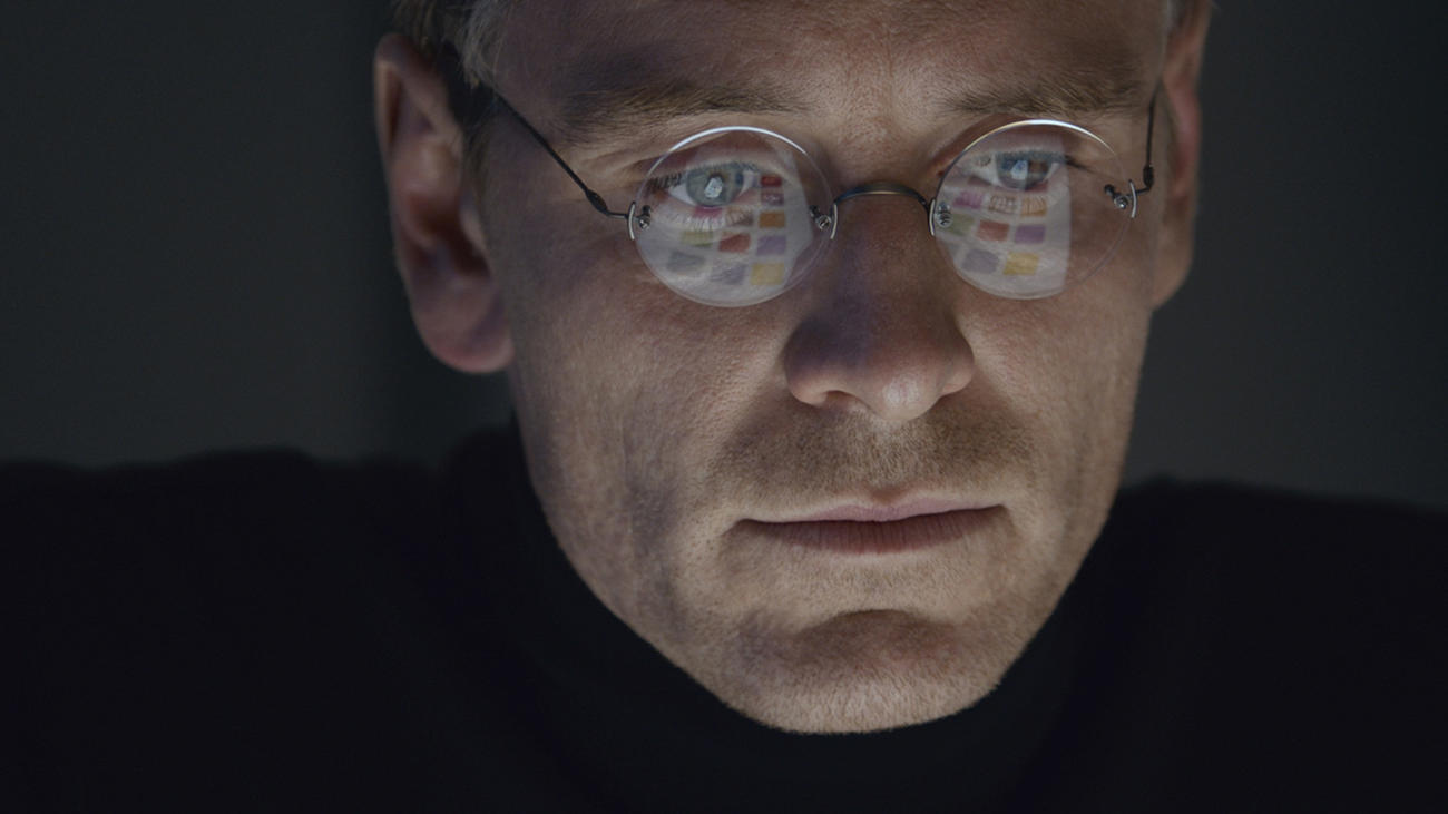 "Lead actor nominee Michael Fassbender as Apple co-founder in ""Steve Jobs."" (Universal Pictures)"