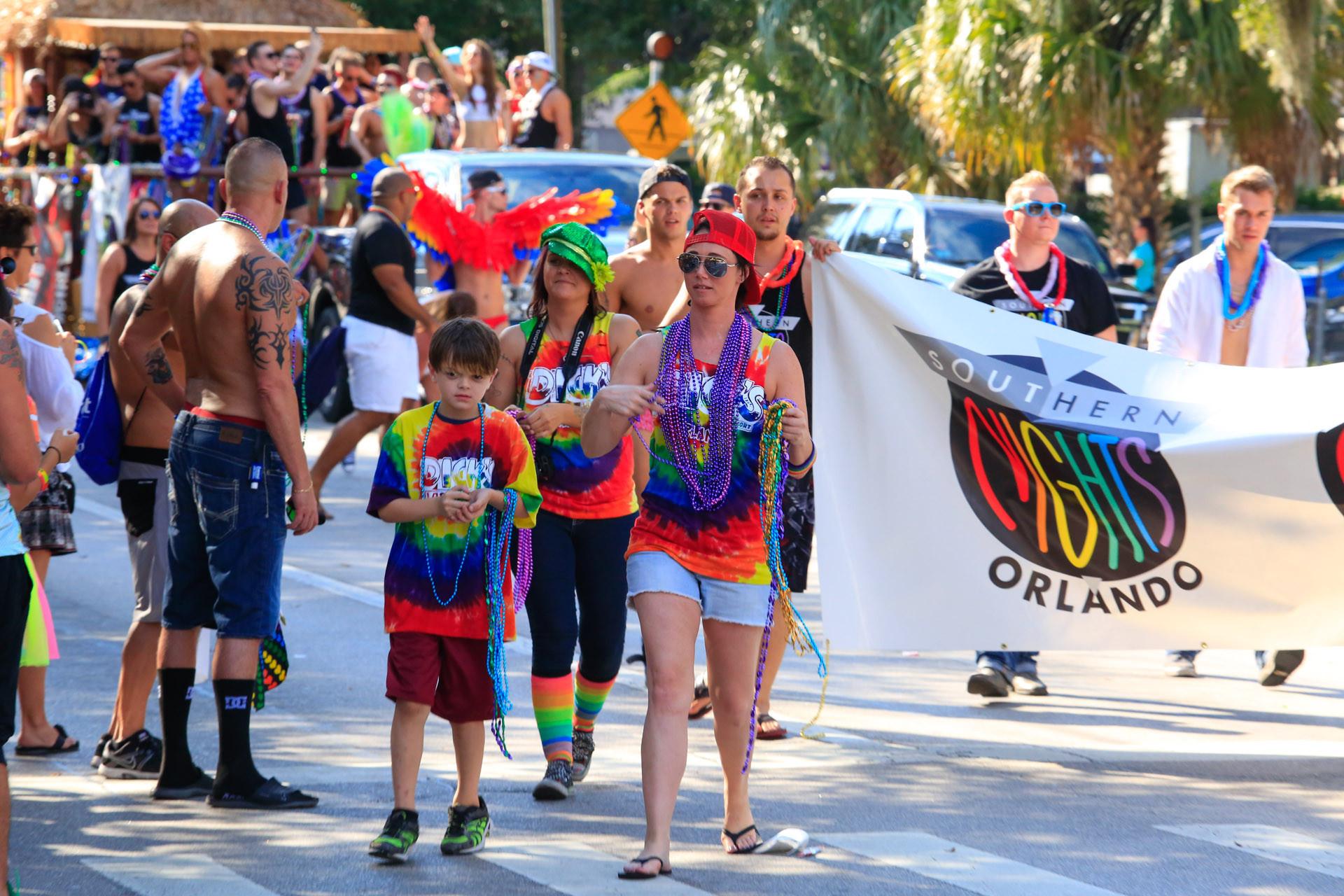 Orlando gay pride parade