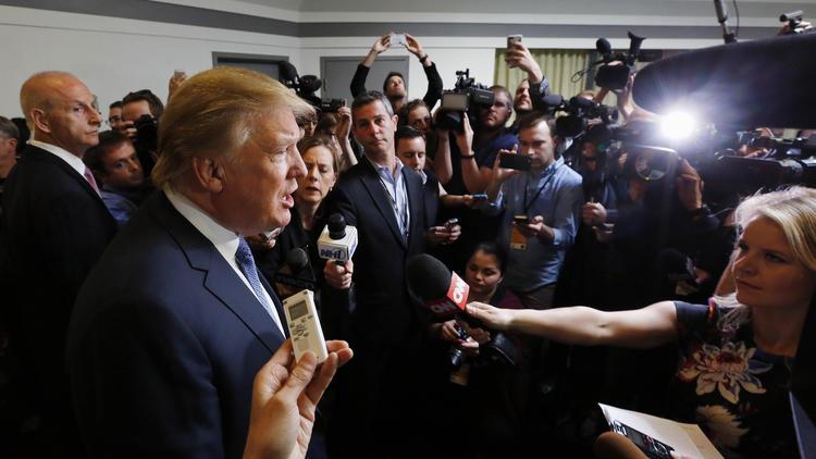 Trump On Gun Control At No Labels Convention