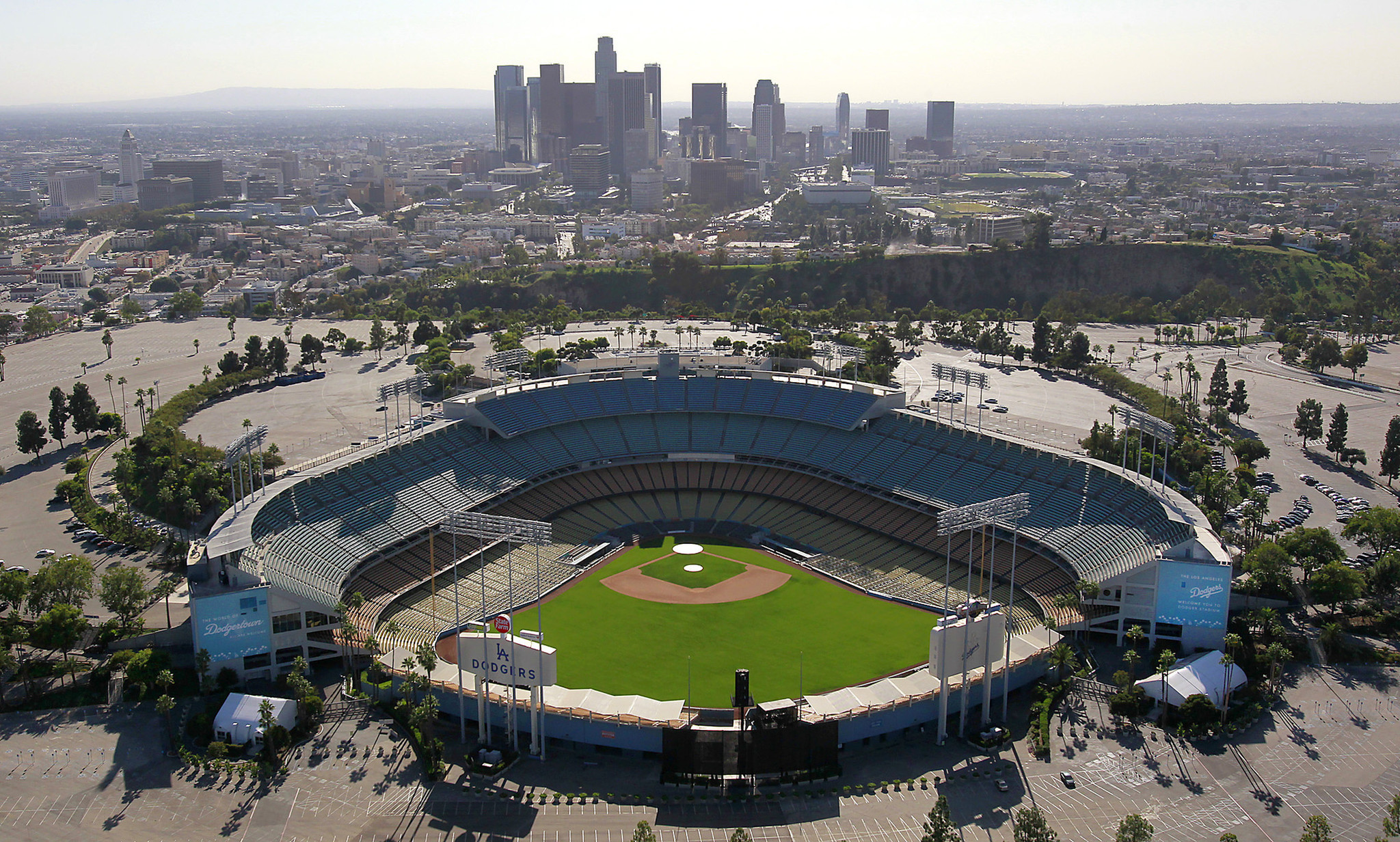 Dodger Stadium fight leaves one person critically injured ...