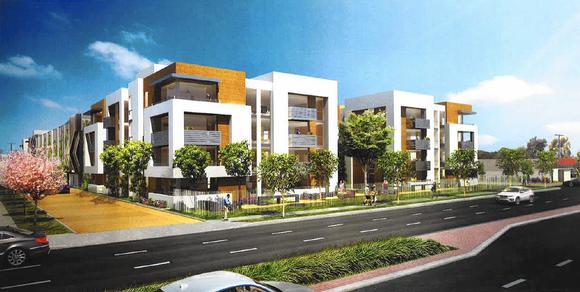 Costa mesa planners back apartment project for motel for Costa mesa motor inn
