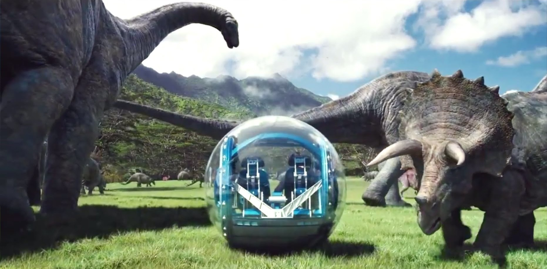 Jurassic World Honest Trailer References Seaworld