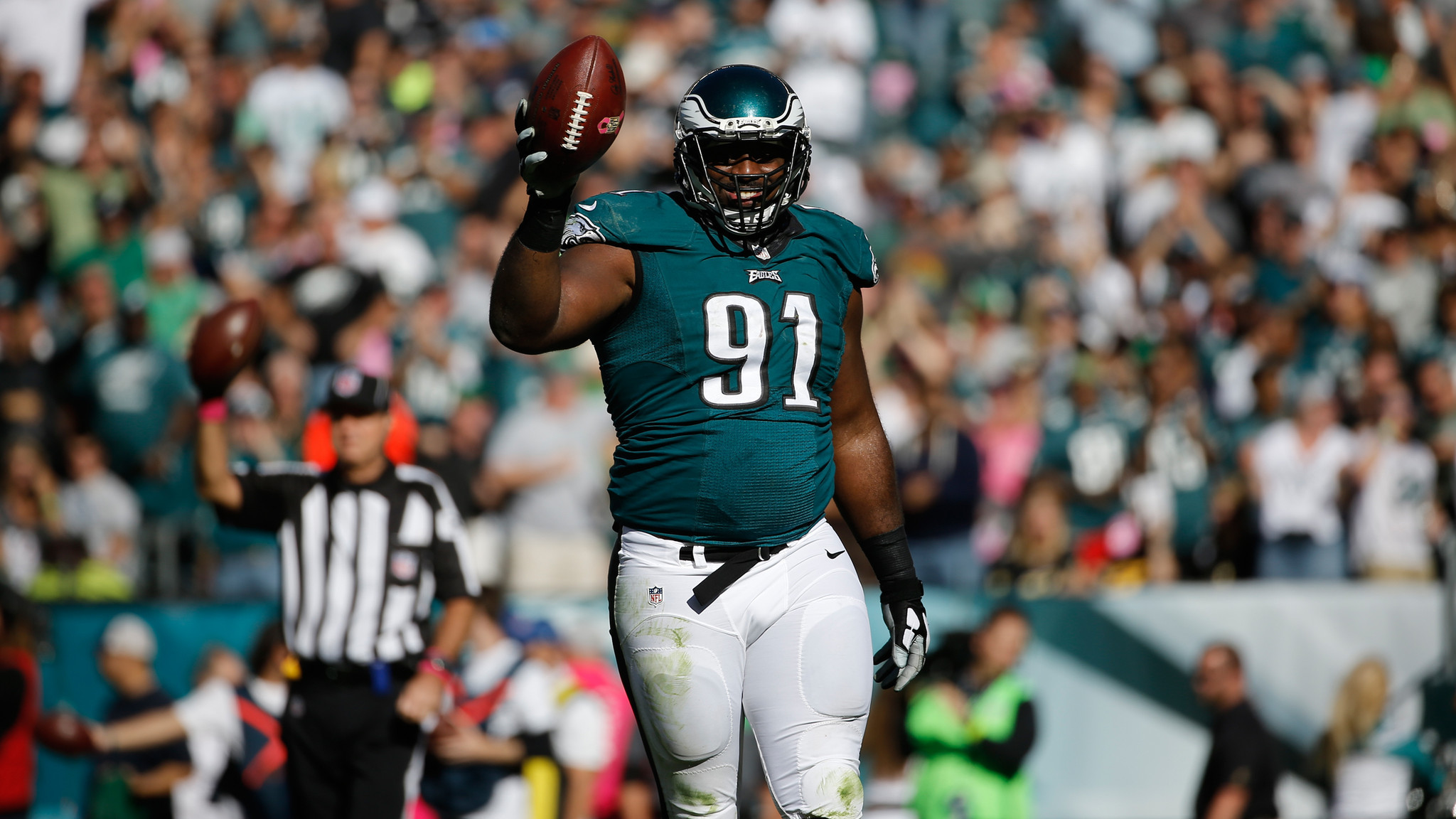 Eagles Fletcher Cox is NFC defensive player of the week The