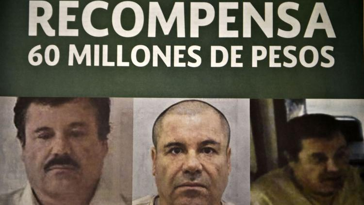El Chapo wanted posted