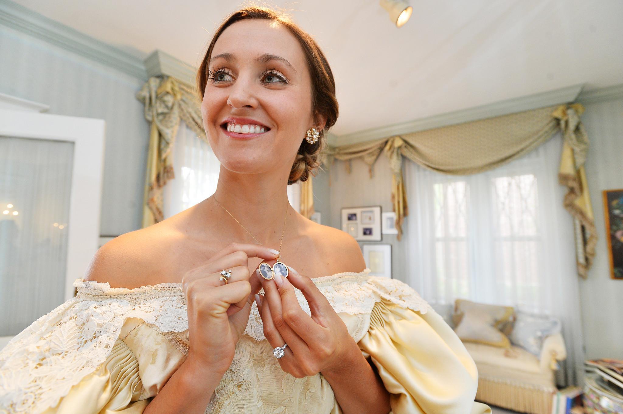 120-year-old wedding dress: Bethlehem native Abigail Kingston ...