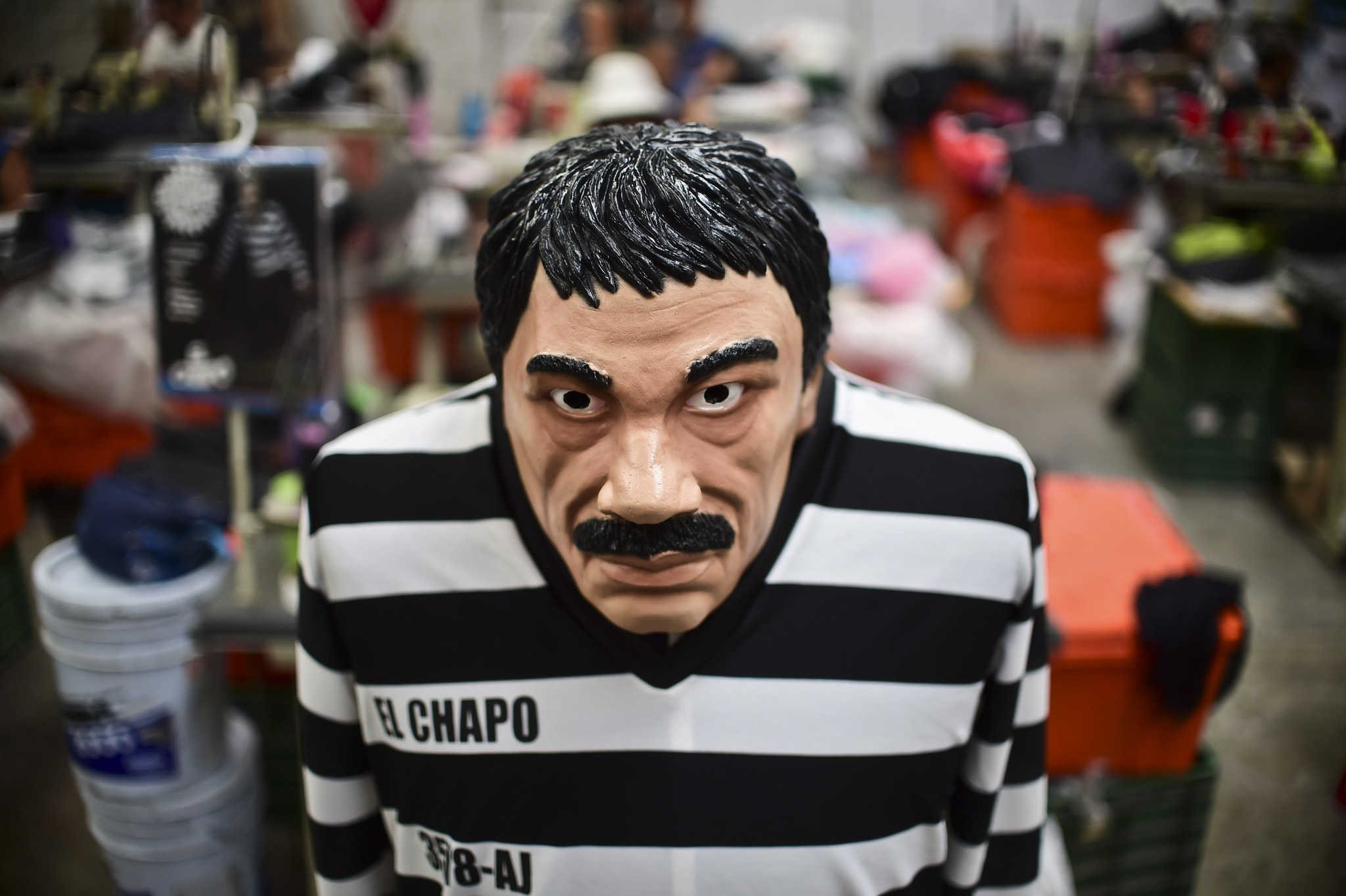 el chapo everywhere: drug lord costume a halloween hit in mexico