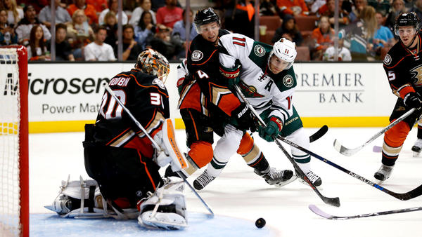 Ducks End Scoring Drought, Beat Minnesota Wild, 4-1