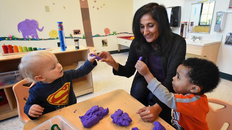 Abingdon-based Kiddie Academy is promoting its