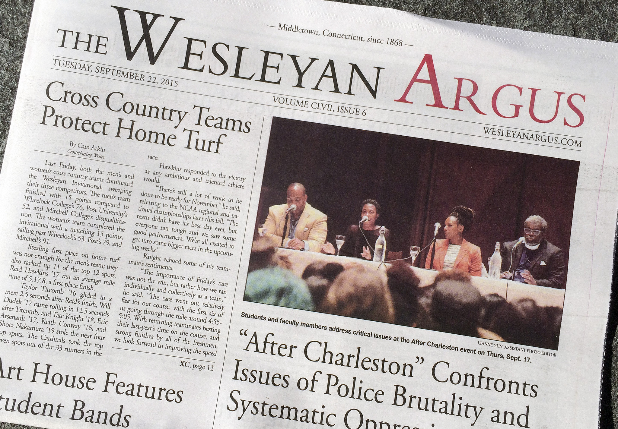 wesleyan student government, dissatisfied with campus newspaper
