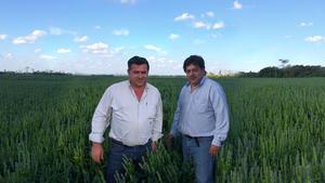 Juan Pablo Altamirano y su socio Pedro Peñalver