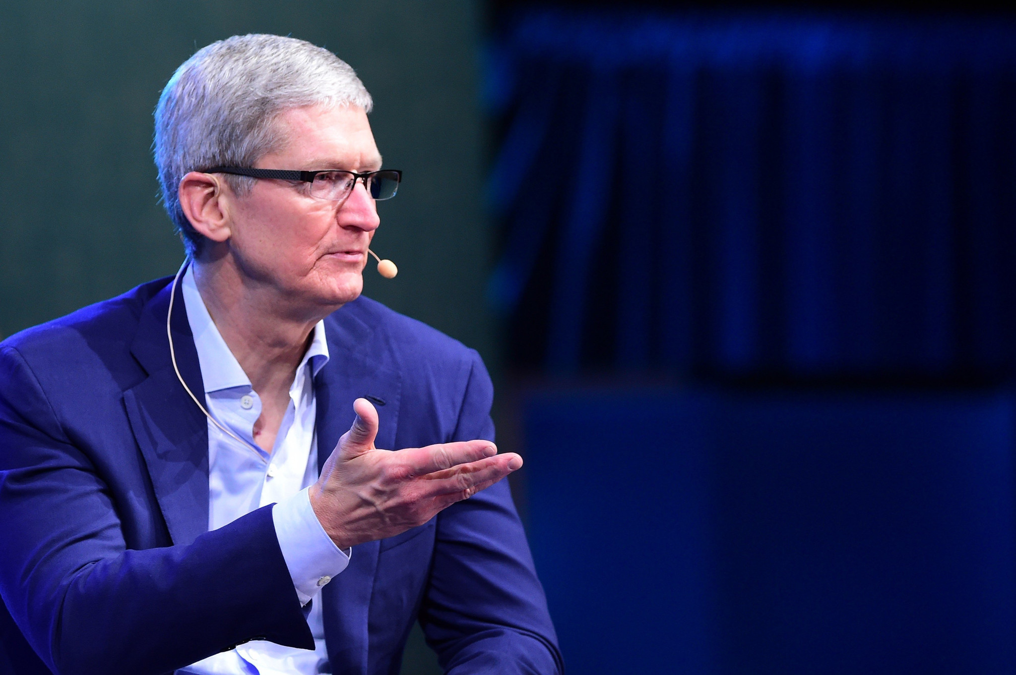 Apple's Tim Cook sees 'massive change' for car business