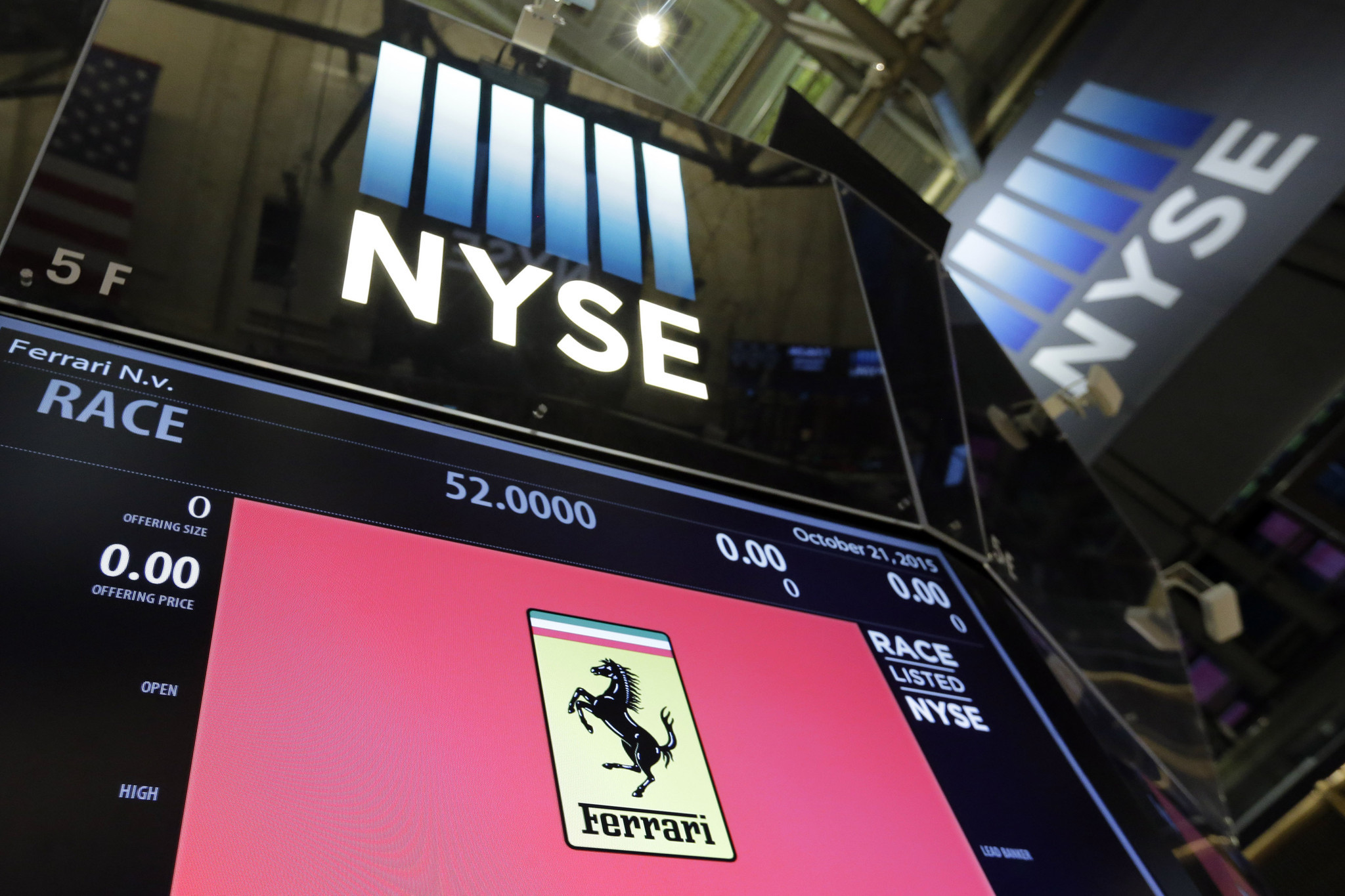 Ferrari Goes Public With Race On Nyse Chicago Tribune