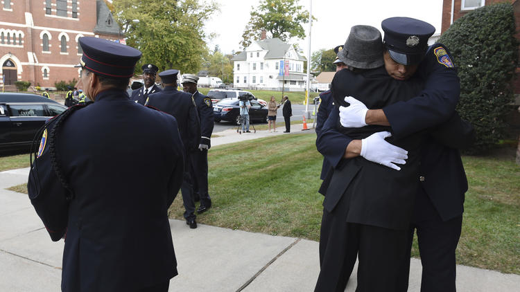 Photos: Hartford Fire Chief John B. Stewart Jr.