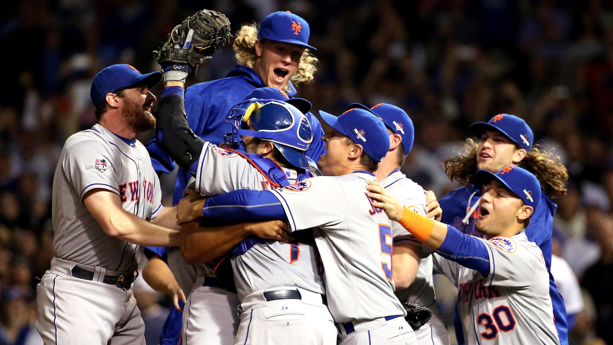 Mets plete sweep of Cubs in NLCS LA Times