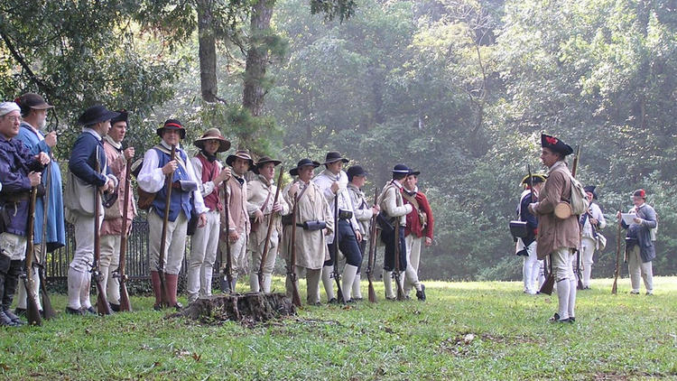 Nearly 100 Revolutionary War re-enactors will take part in this weekend's 240th anniversary recreation of the Oct. 25-26, 1775 Battle of Hampton, including members of the 7th Virginia.