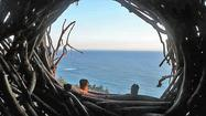 For $300 you can live two nights like a bird in Big Sur (BYO pillows)