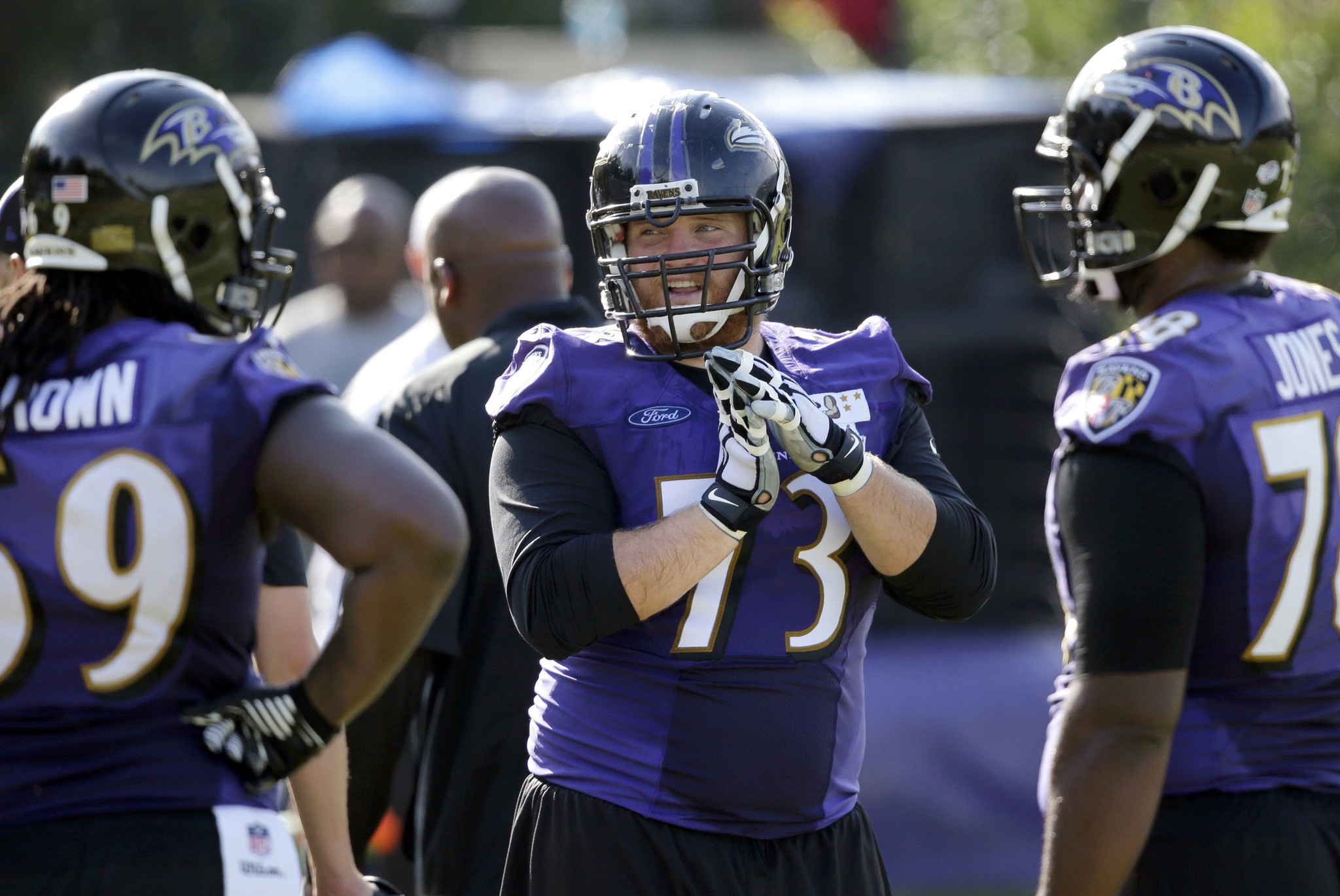 Marshal Yanda glad contract extension could allow him to end on