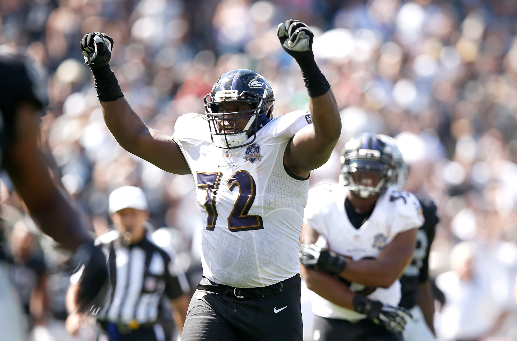 Keeping Kelechi Osemele a challenge for Ravens after Marshal