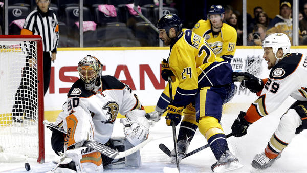 Predators Dominate Ducks From Start To Finish, 5-1