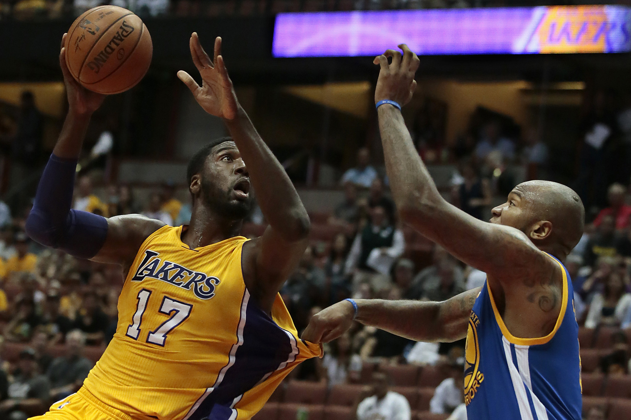 Lakers vs Warriors - LA Times