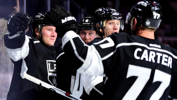 Kings Find Themselves In Win Over Sharks