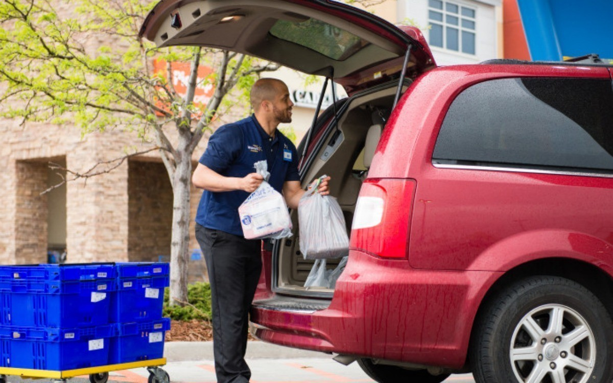 free walmart grocery pickup service arrives in south