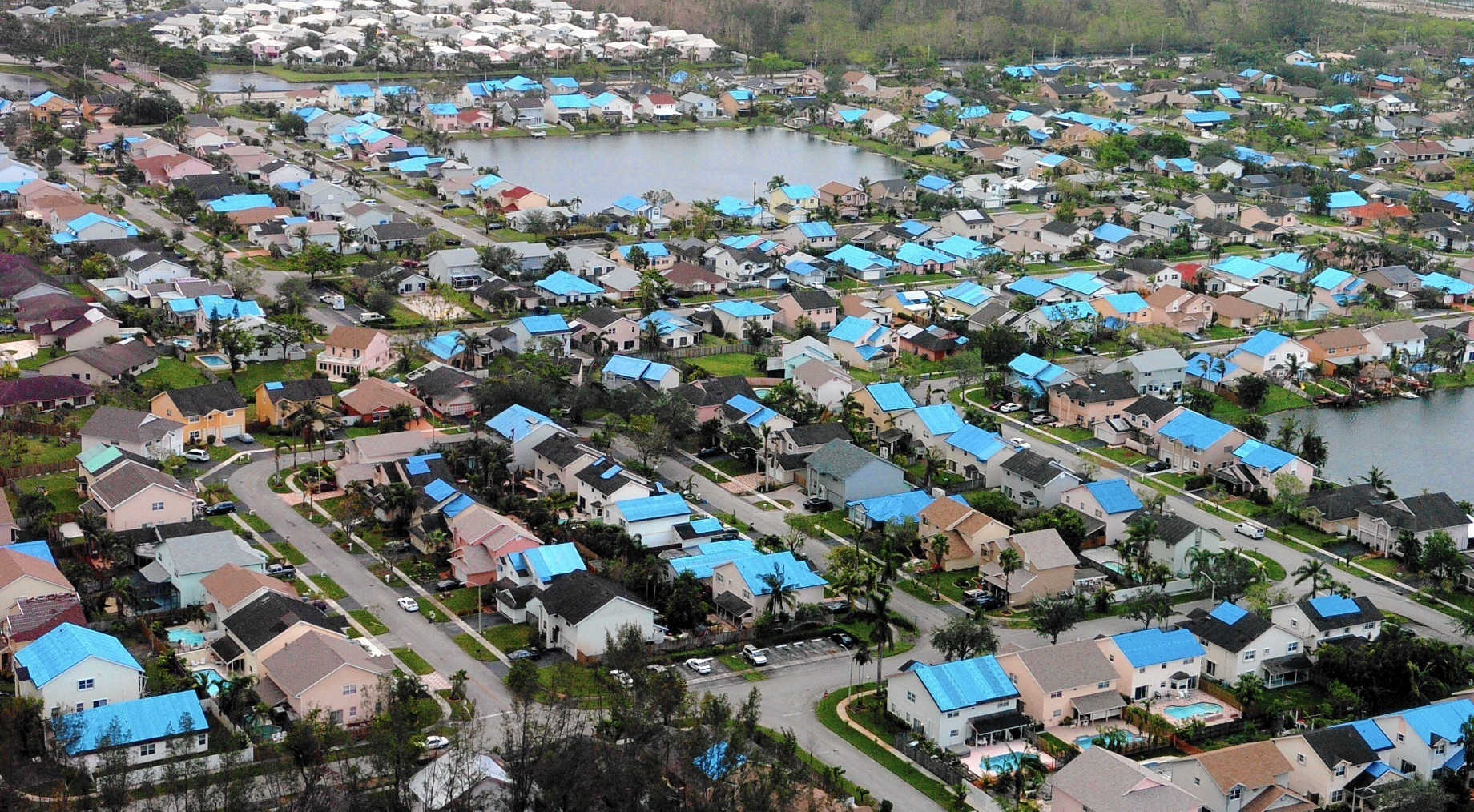In Florida, after Hurricane Wilma 90