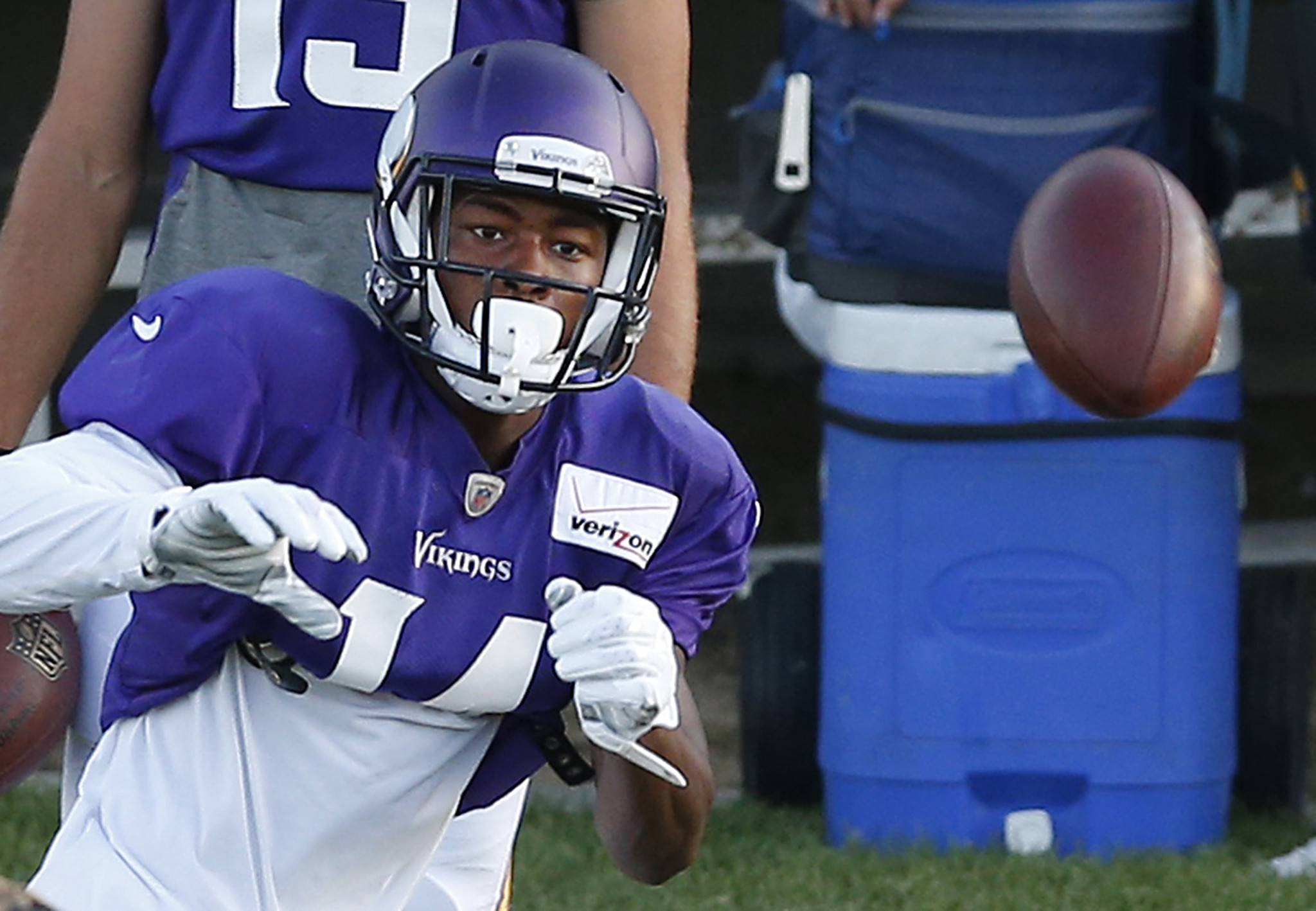 Former Terps wide receiver Stefon Diggs named NFL Rookie of the