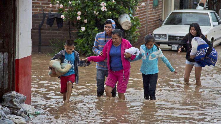 Hurricane Patricia hits Mexico