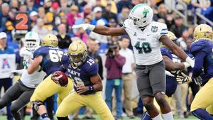 Defense bails out Navy in 31-14 win over Tulane