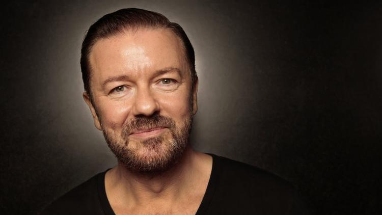 Ricky Gervais is back.  (Carolyn Cole/Los Angeles Times)