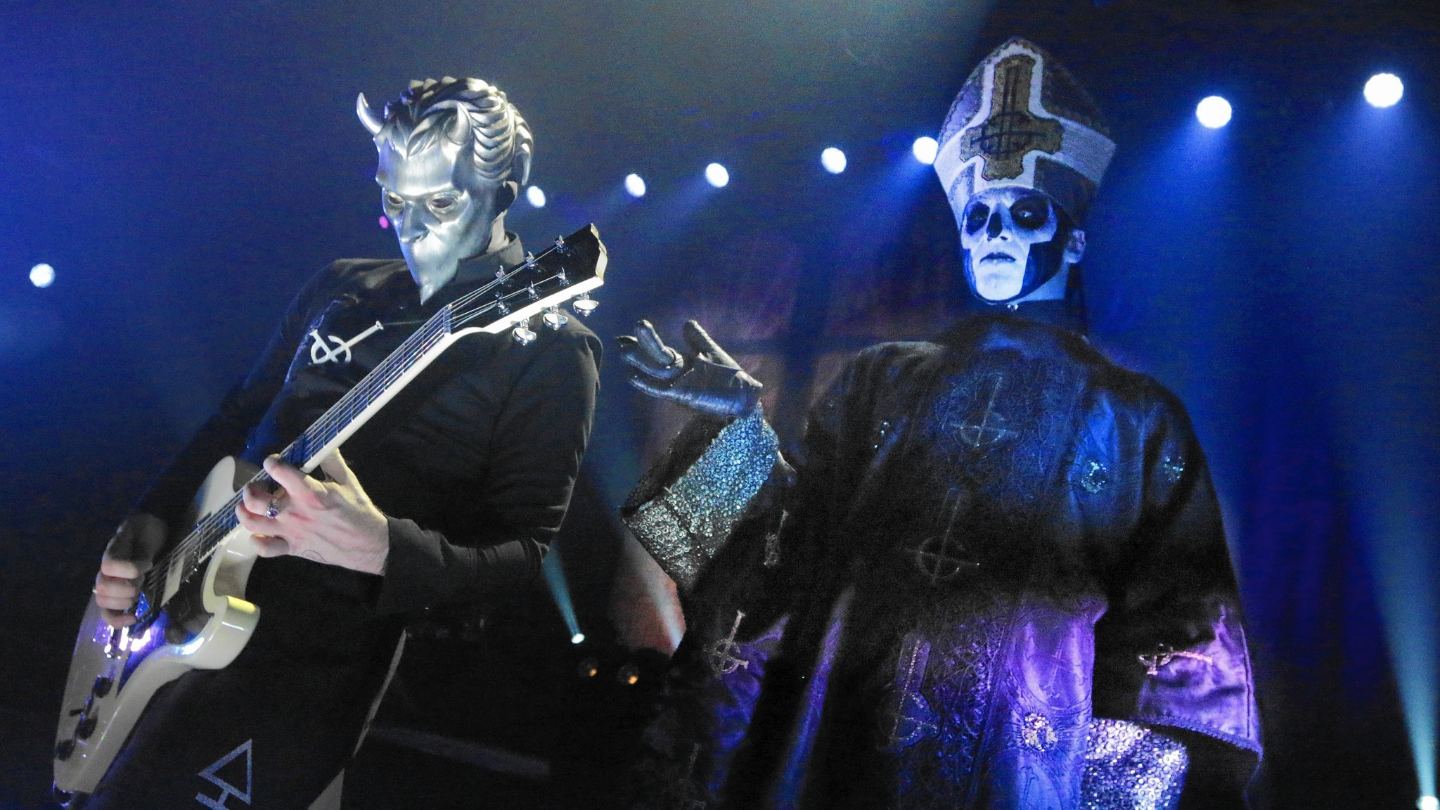night of the ghouls band
