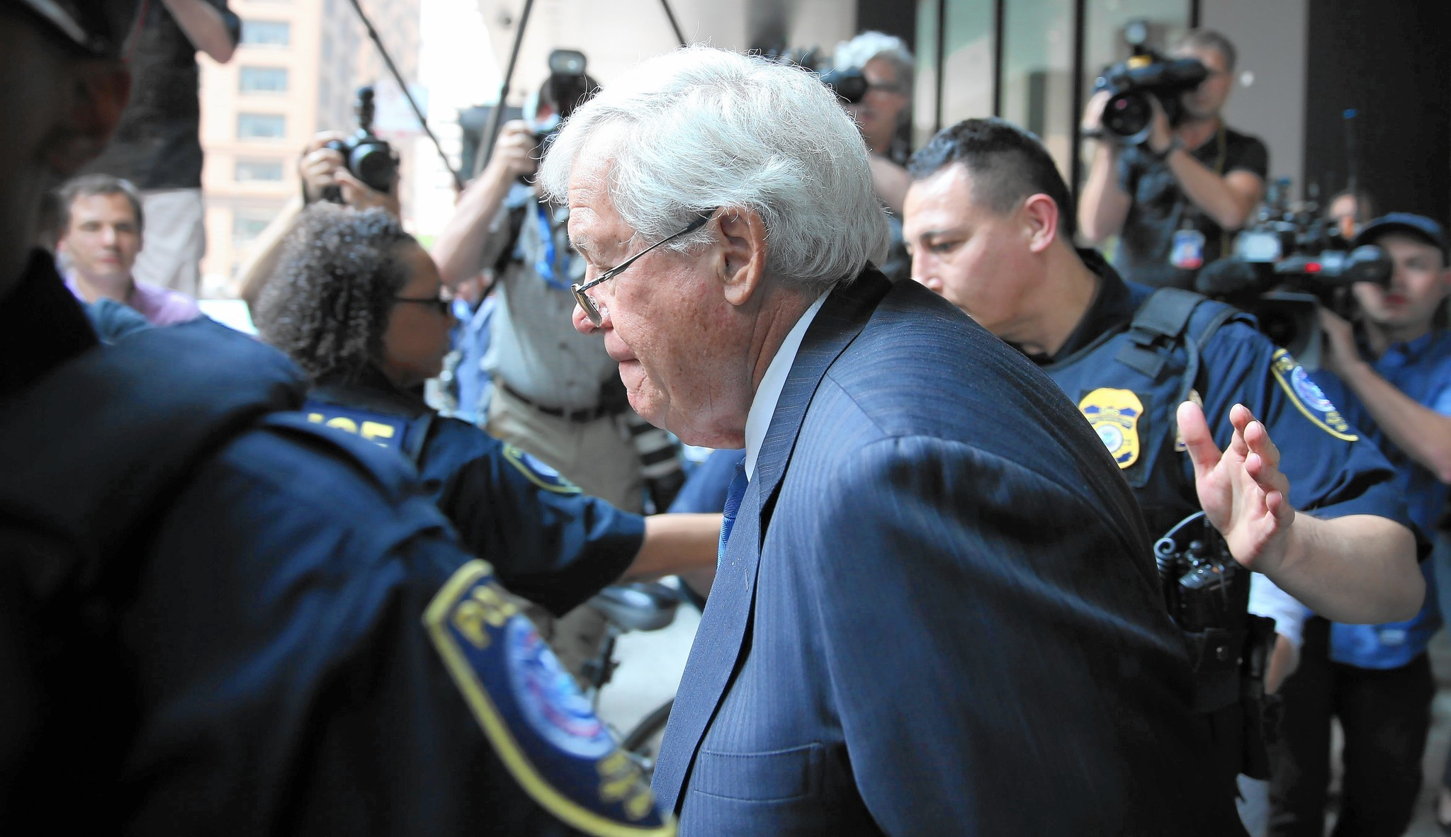 Dennis Hastert expected to plead guilty Wednesday in federal court