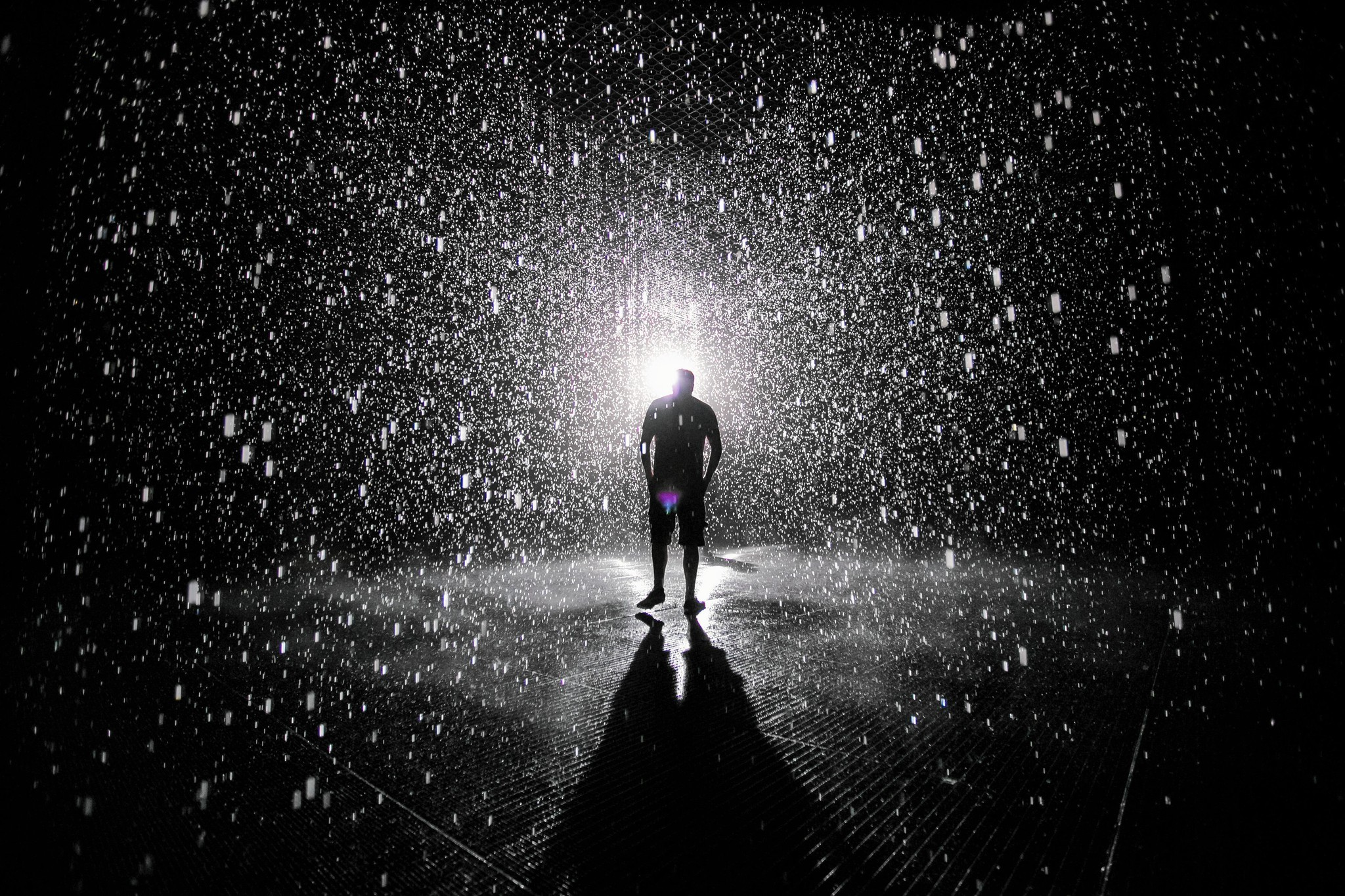Art for Instagram: 3 lessons from LACMA\'s \'Rain Room\'