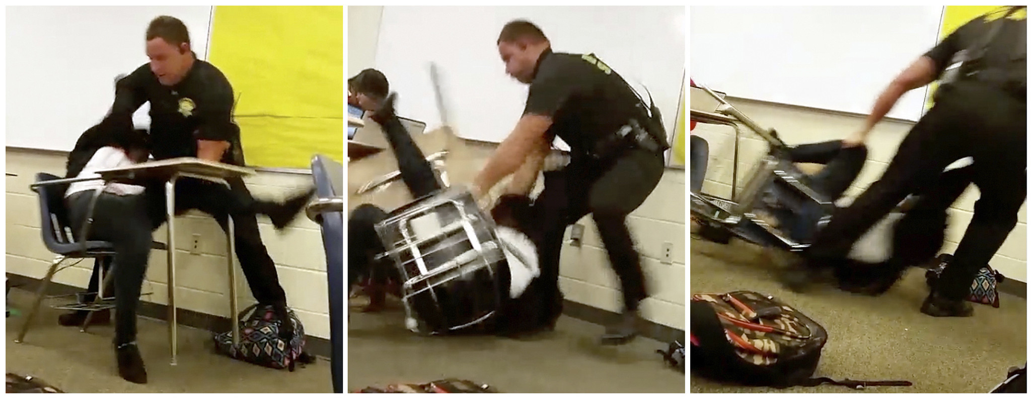 South Carolina classroom arrest raises questions about police role in schools