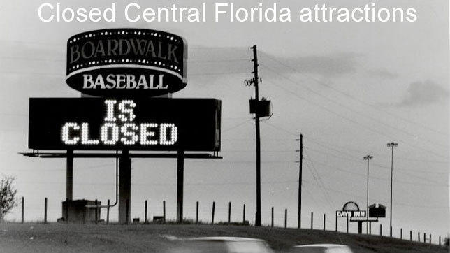 Pictures: Orlando attractions that have closed through the years
