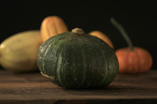 "<p><strong>Buttercup</strong>: This squash looks like a kabocha, but on the underside there is a telltale ""cup"" or ridge around the blossom scar. The flavor is mild; the texture is dense.</p>"