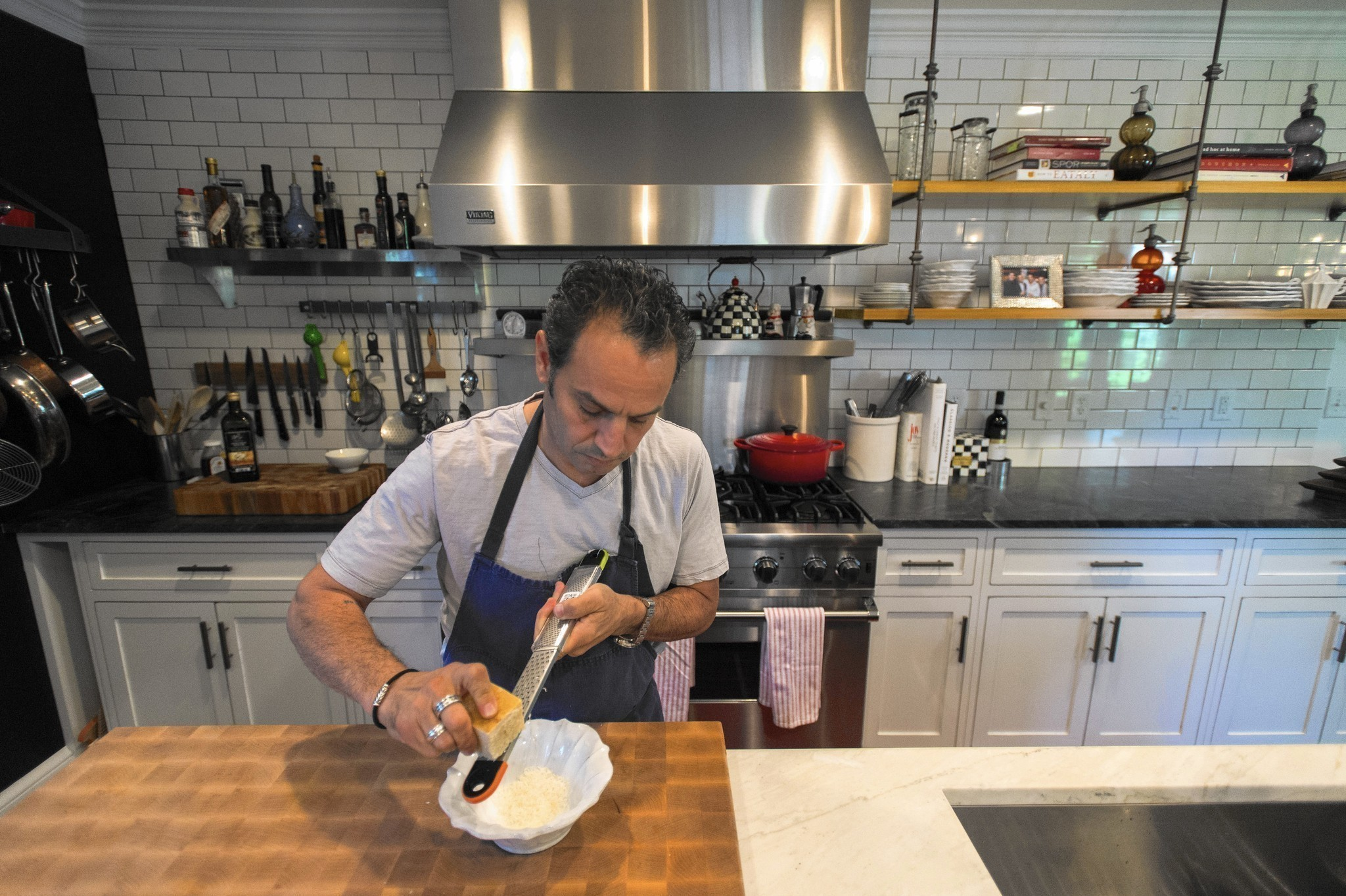 West hartford connecticut chef billy grant finally has a for Chef comes to your house