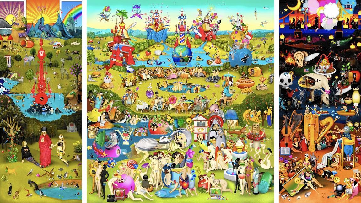Garden of Emoji Delights