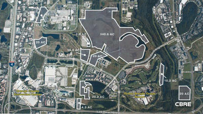 Colony Capital's 474 acres on Universal to be marketed worldwide Friday