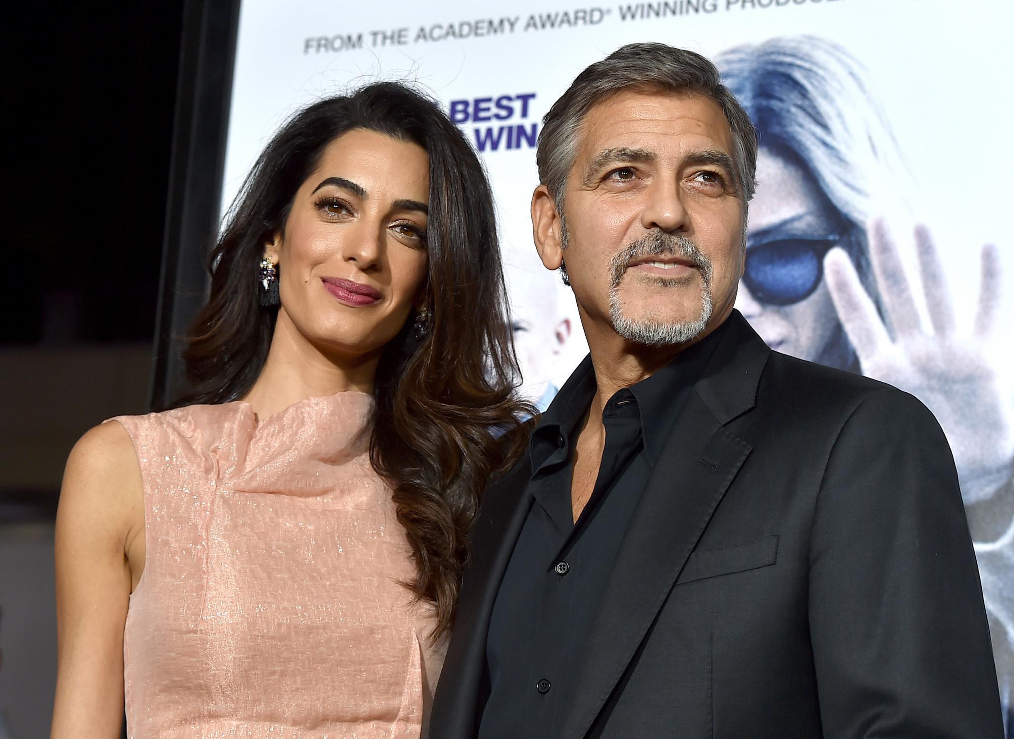 George Clooney, wife Amal adopt shelter dog named Millie