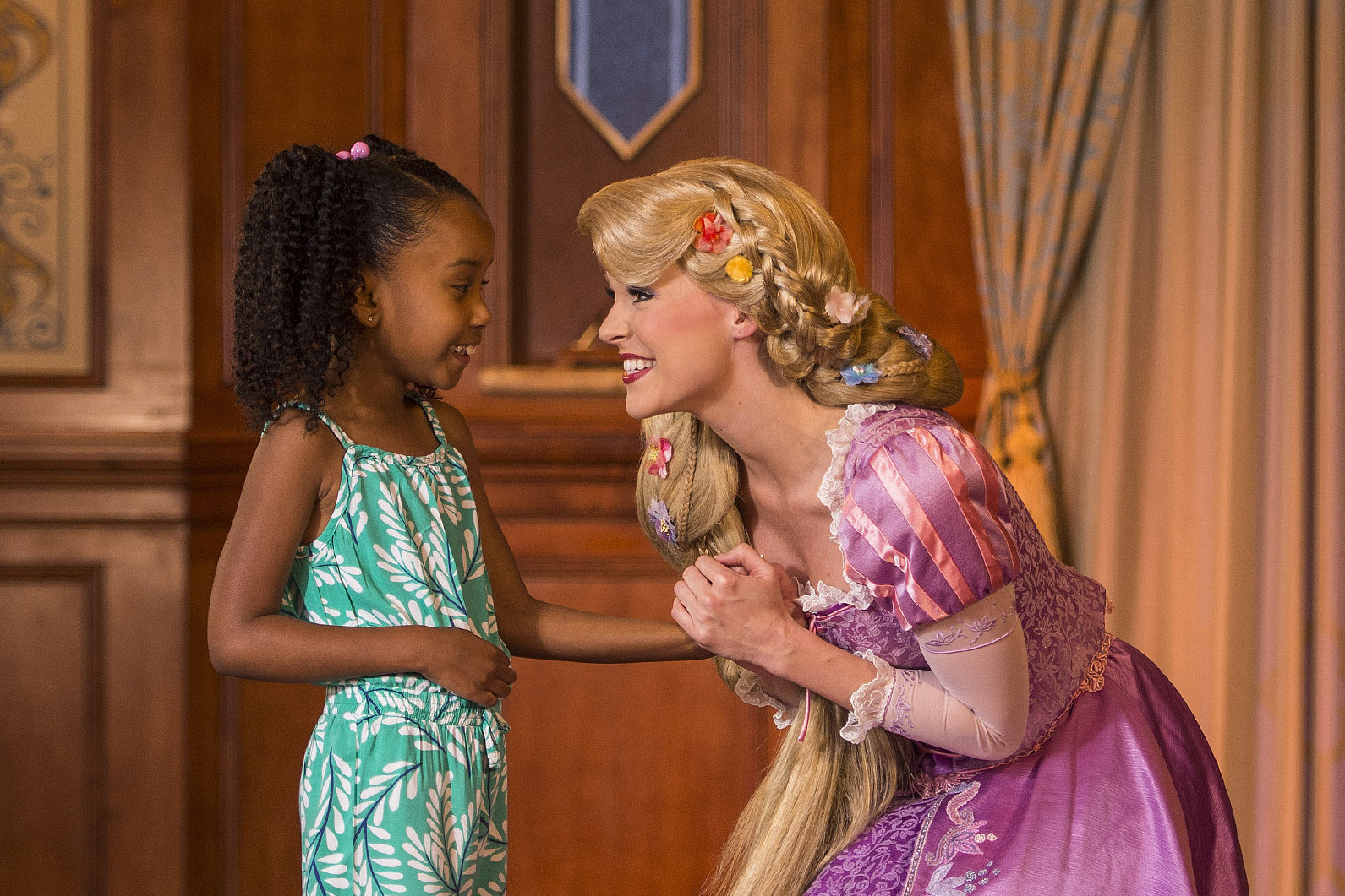 Quality Time With Disney Characters Requires Plan Patience