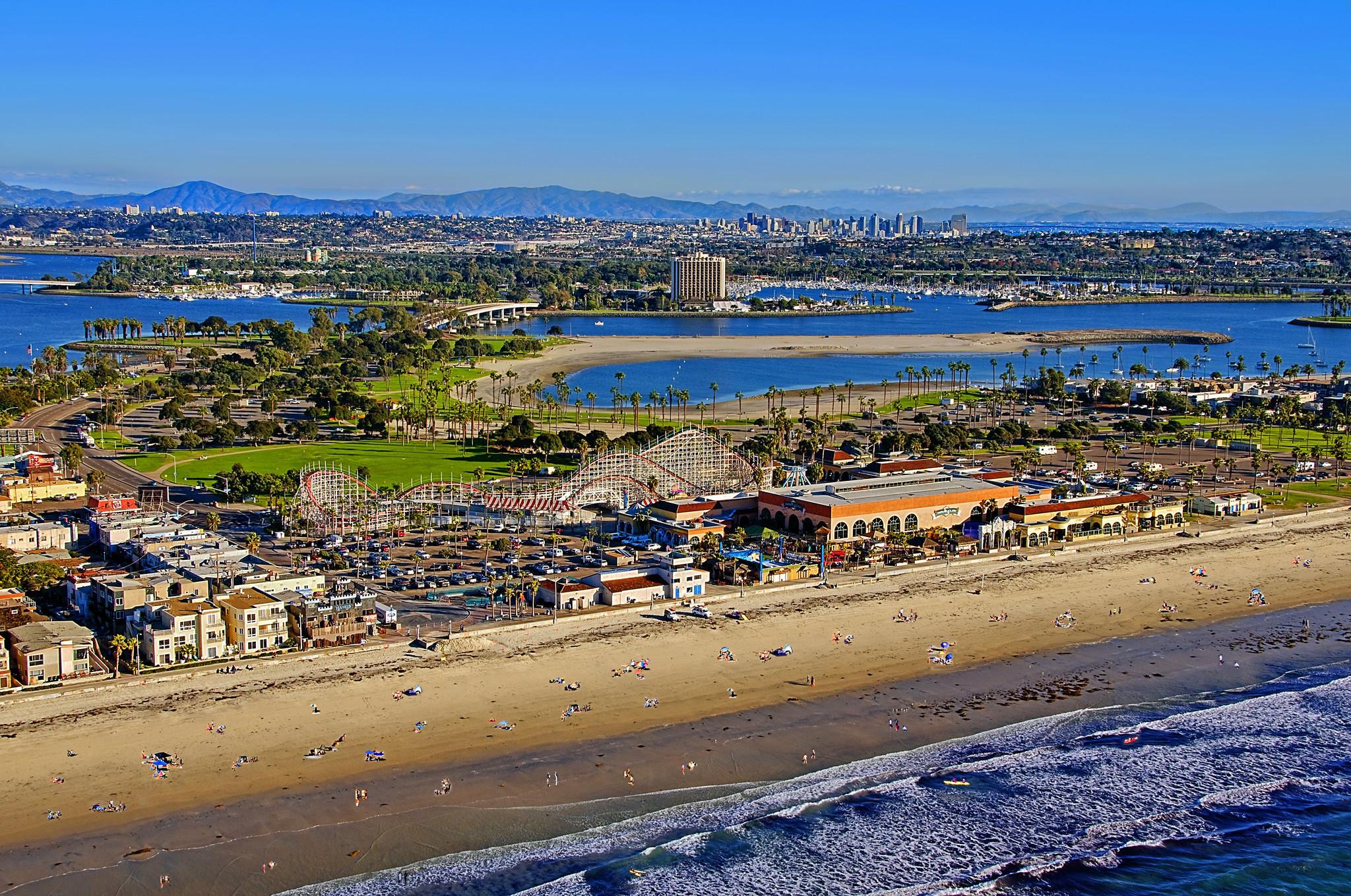 South Mission Beach Park San Diego